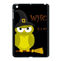 Who Is A Witch?   Yellow Apple Ipad Mini Case (black) by Valentinaart