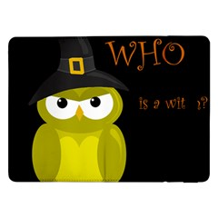 Who Is A Witch?   Yellow Samsung Galaxy Tab Pro 12 2  Flip Case