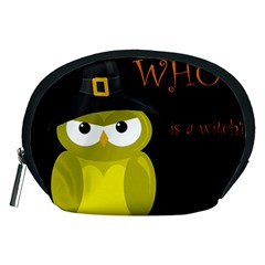 Who Is A Witch?   Yellow Accessory Pouches (medium)