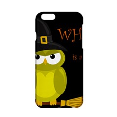 Who Is A Witch?   Yellow Apple Iphone 6/6s Hardshell Case by Valentinaart