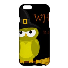 Who Is A Witch?   Yellow Apple Iphone 6 Plus/6s Plus Hardshell Case by Valentinaart