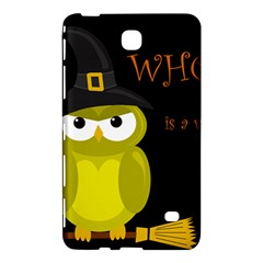 Who Is A Witch?   Yellow Samsung Galaxy Tab 4 (8 ) Hardshell Case  by Valentinaart