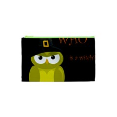 Who Is A Witch?   Yellow Cosmetic Bag (xs)