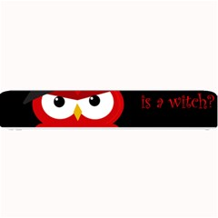 Who Is A Witch?   Red Small Bar Mats by Valentinaart