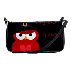 Who Is A Witch?   Red Shoulder Clutch Bags