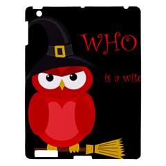 Who Is A Witch?   Red Apple Ipad 3/4 Hardshell Case by Valentinaart