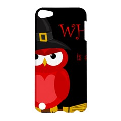 Who Is A Witch?   Red Apple Ipod Touch 5 Hardshell Case by Valentinaart