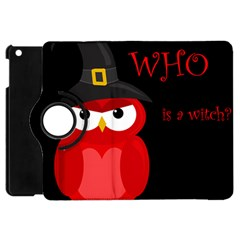 Who Is A Witch?   Red Apple Ipad Mini Flip 360 Case by Valentinaart
