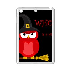Who Is A Witch?   Red Ipad Mini 2 Enamel Coated Cases by Valentinaart