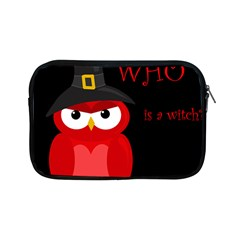 Who Is A Witch?   Red Apple Ipad Mini Zipper Cases by Valentinaart