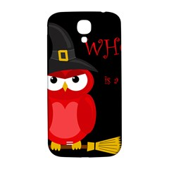 Who Is A Witch?   Red Samsung Galaxy S4 I9500/i9505  Hardshell Back Case by Valentinaart