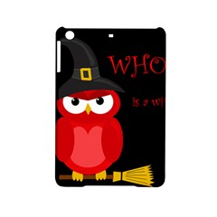 Who Is A Witch?   Red Ipad Mini 2 Hardshell Cases by Valentinaart