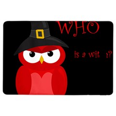 Who Is A Witch?   Red Ipad Air 2 Flip by Valentinaart