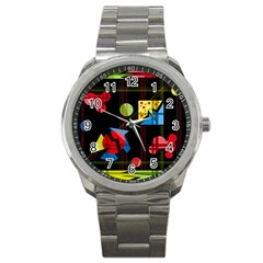 Playful Day Sport Metal Watch