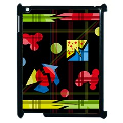 Playful Day Apple Ipad 2 Case (black) by Valentinaart