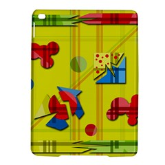 Playful Day   Yellow  Ipad Air 2 Hardshell Cases by Valentinaart