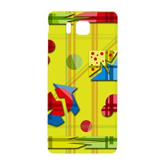Playful Day   Yellow  Samsung Galaxy Alpha Hardshell Back Case by Valentinaart