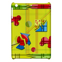 Playful Day   Yellow  Apple Ipad Mini Hardshell Case
