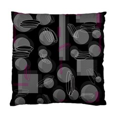 Come Down   Magenta Standard Cushion Case (one Side) by Valentinaart