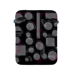 Come Down   Magenta Apple Ipad 2/3/4 Protective Soft Cases by Valentinaart