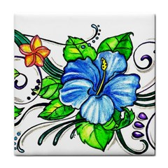 Tropicalfloralarmband Ceramic Tile by EverIris