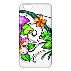 Tropical Hibiscus Flowers Iphone 6 Plus/6s Plus Tpu Case by EverIris
