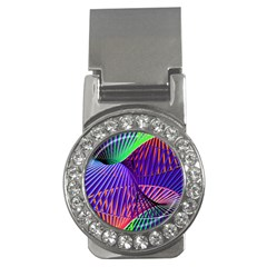 Colorful Rainbow Helix Money Clips (cz)  by designworld65