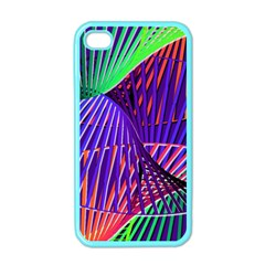 Colorful Rainbow Helix Apple Iphone 4 Case (color) by designworld65