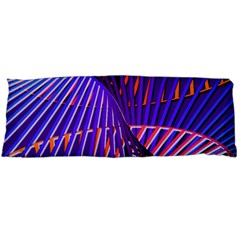 Colorful Rainbow Helix Body Pillow Case (dakimakura) by designworld65