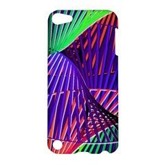 Colorful Rainbow Helix Apple Ipod Touch 5 Hardshell Case by designworld65