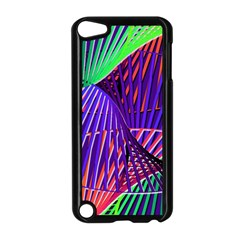 Colorful Rainbow Helix Apple Ipod Touch 5 Case (black) by designworld65