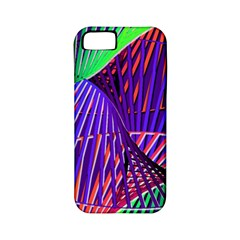 Colorful Rainbow Helix Apple Iphone 5 Classic Hardshell Case (pc+silicone) by designworld65