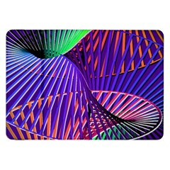 Colorful Rainbow Helix Samsung Galaxy Tab 8 9  P7300 Flip Case by designworld65