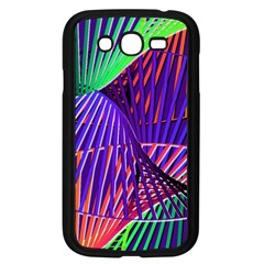 Colorful Rainbow Helix Samsung Galaxy Grand Duos I9082 Case (black)