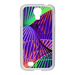 Colorful Rainbow Helix Samsung Galaxy S4 I9500/ I9505 Case (white) by designworld65