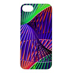 Colorful Rainbow Helix Apple Iphone 5s/ Se Hardshell Case by designworld65