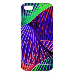 Colorful Rainbow Helix Iphone 5s/ Se Premium Hardshell Case by designworld65