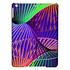 Colorful Rainbow Helix Ipad Air Hardshell Cases by designworld65