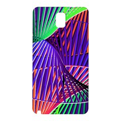 Colorful Rainbow Helix Samsung Galaxy Note 3 N9005 Hardshell Back Case by designworld65