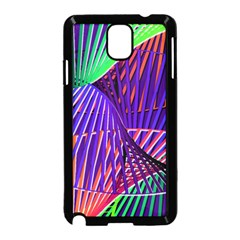 Colorful Rainbow Helix Samsung Galaxy Note 3 Neo Hardshell Case (black) by designworld65