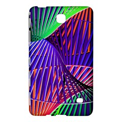 Colorful Rainbow Helix Samsung Galaxy Tab 4 (8 ) Hardshell Case  by designworld65