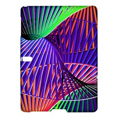 Colorful Rainbow Helix Samsung Galaxy Tab S (10 5 ) Hardshell Case  by designworld65