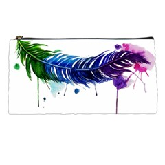 Watery Feather Pencil Cases by EverIris