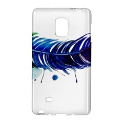 Watery Feather Galaxy Note Edge by EverIris