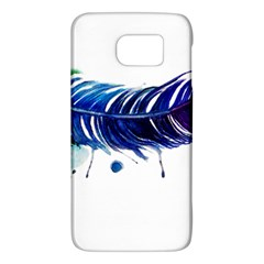 Watery Feather Galaxy S6 by EverIris