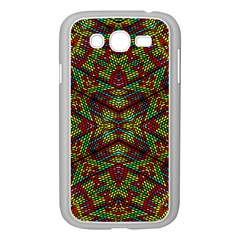 Mandela Check Samsung Galaxy Grand Duos I9082 Case (white) by MRTACPANS