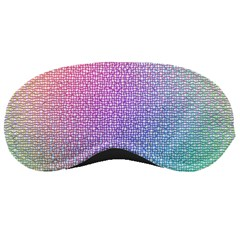Rainbow Colorful Grid Sleeping Masks by designworld65