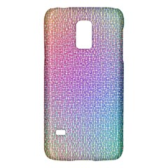Rainbow Colorful Grid Galaxy S5 Mini by designworld65