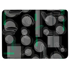 Come Down   Green Samsung Galaxy Tab 7  P1000 Flip Case by Valentinaart