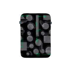Come Down   Green Apple Ipad Mini Protective Soft Cases by Valentinaart